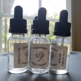 Snapdragon Solution -15ml with Natural Flavors added