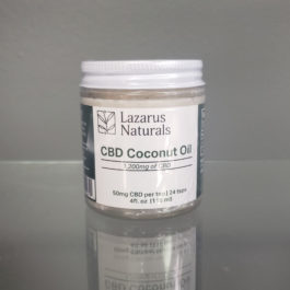 CBD Coconut Oil 1200mg